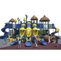 Wholesale Cool Series Outdoor Playground Equipment Anti - Crack With Big Play Towers And Tube Slides from china suppliers