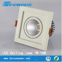 Wholesale Single head of household lamps and lanterns, 7 w10w square white ceiling from china suppliers