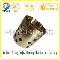 Wholesale Copper Alloy Buried Solid Lubricating Bushes, graphite bush,brass bush from china suppliers