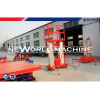 Wholesale 2.2kw 300kg Mobile Aerial Work Platform Electrical Four Man Lift Platform from china suppliers