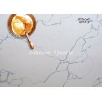 Wholesale 3m Length 2cm / 3cm Thickness Quartz Stone Countertops Smoothness Compact Structure from china suppliers