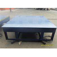 Wholesale Big Capacity Electric Loading Dock Leveler Free Maintenance With Single Button Operation from china suppliers