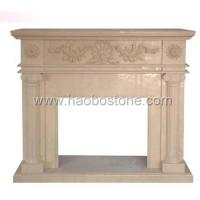 Wholesale Granite marble ,natural stone fireplace mantel 1-057 from china suppliers