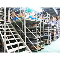 Wholesale Blue , Orange Economical Rack Supported Mezzanine Steel Shelving Systems from china suppliers