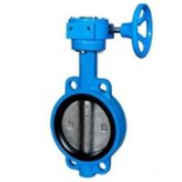 Wholesale Zero Leakage Centerline Butterfly Valves Wafer Gearbox Operated Feature from china suppliers