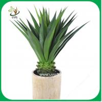 Buy cheap UVG PLT08 real touch artificial sisal hemp indoor plants for meeting room decoration from wholesalers