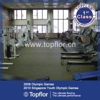 Wholesale Exercise Flooring Rubber Flooring for Weight Room from china suppliers