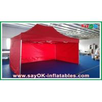Wholesale Oxford Cloth Durable Pop-up Tent Aluminum Frames Red With Printing from china suppliers
