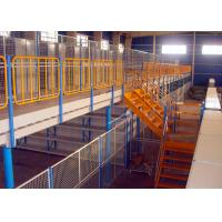 Wholesale H Beams Round Pipes Structural Mezzanine Warehouse Storage Racks 1000 Kg Per Sqm from china suppliers
