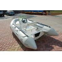 Wholesale PVC 5 Person Inflatable Boat For Fishing , 330m Jockey Console Marine Inflatable Boat from china suppliers