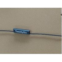 China Washable Garment Hang Tag String Round / Oval / Square Shaped OEM Service for sale