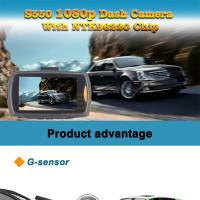 Wholesale Full HD Car Dash Camera DVR Vehicle Dash Cam G-Sensor IR Night Vision Video from china suppliers