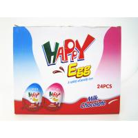 Buy cheap Milk And Chocolate Chips Cookies Flavor Happy Egg In Box With a Lovely Toy from wholesalers