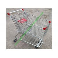 Wholesale American Style Supermarket Shopping Wire Cart / Customized Carbon steel Hand Trolley from china suppliers