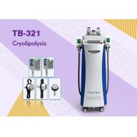 Wholesale Cooling Systerm 5 Heads Cryolipolysis Slimming Machine RF Fractional For Fat Reducing Skin Lifting from china suppliers