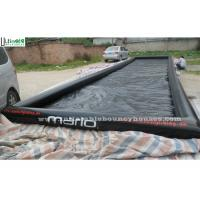 Wholesale Water Sports Long Large Inflatable Pool with 0.9mm PVC Tarpaulin , Black from china suppliers