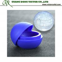 Buy cheap Hot sales Silicone mould food grade Star Wars ice ball Mould 6cm from wholesalers