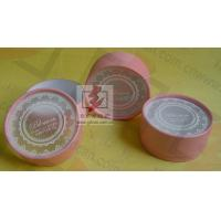 Wholesale Customised Pink Cardboard Canister Packaging With Plastic Jar from china suppliers