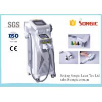 Wholesale Elight RF Nd Yag Laser 3 in 1 Vertical Multifunction Beauty Equipment / Machine from china suppliers