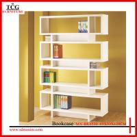 Wholesale wooden white billy bookcase from china suppliers