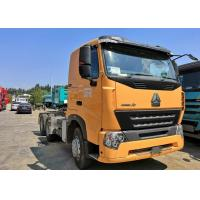 China HOWO A7 420 HP 6X4 Prime Mover Truck / Diesel Tractor Truck HF7 Front Axle on sale