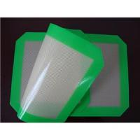 Quality 100% food grade fiberglass silicone baking mat sheet 420*295mm for sale