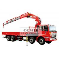 Wholesale 16 Ton Knuckle Boom Truck Mounted Crane , Heavy Things Lifting Knuckle Boom Crane from china suppliers