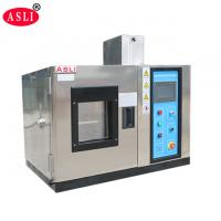 Buy cheap PLC Control Temperature Humidity Chamber / Cabinet , Climate Test Chamber from wholesalers