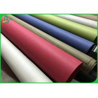 Buy cheap Anti Tear multiple colour 0.55mm 0.8mm Thick Washable Eco Paper Rolls 150CM from wholesalers