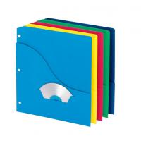 Wholesale Slash Pocket Project Folders, Jacket, Letter, Five Colors, 10/Pack from china suppliers