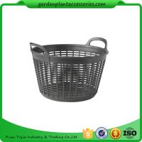 "Wholesale Graphite Garden Plant Accessories - Flexible Small Outdoor Basket Planter 9-1/2"" in diameter x 8"" H overall from china suppliers"