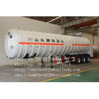 Wholesale Leaf Spring Suspension LNG Tanker Trailer , Q345B Steel Chemical Tank Trailer from china suppliers