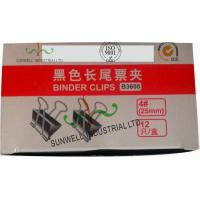 Wholesale Custom Printed Office Tails Clips Packaging Boxes Glossing Varnish Finished from china suppliers
