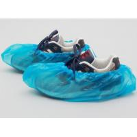Wholesale CPE Disposable Surgical Shoe Covers , Plastic Shoe Covers For Laboratory from china suppliers