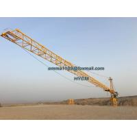 Wholesale TC7040 16TONS Remote Control Real Estate The Tower Crane Cat Head Type from china suppliers