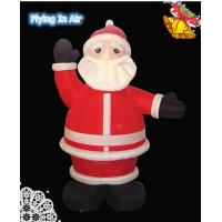 Wholesale 2.5m Oxford Christmas Inflatable Santa Claus for Christmas Decoration from china suppliers