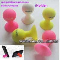 Wholesale Silicon octopus Suckers holder for mobilephone , silicone cupula; from china suppliers