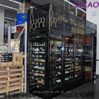 China Stainless Steel Wine Cellar with All-in-one Cooling System on sale