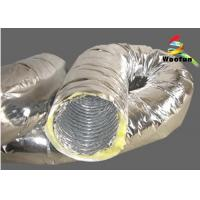 Wholesale Flexible Air Conditioning Insulated Flexible Ducting For Ventilation Application from china suppliers