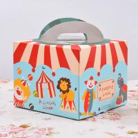 Wholesale Eco Friendly Beautiful Colored 4 Inch Cake Boxes Fancy Cartoon Design from china suppliers