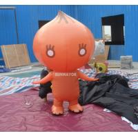 Wholesale Attractive Orange Onion Advertising funny inflatable costumes for kids from china suppliers
