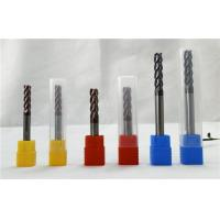 Wholesale Extra Long Square End Mill For Milling Quenching / Tempered Steel Standard Size from china suppliers