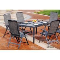 Wholesale Aluminium Metal All Weather Wicker Outdoor Furniture 6 Piece Waterproof from china suppliers