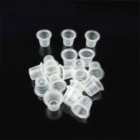 Wholesale Permanent Make Up Tattoo Pigment Cups Clear Big 14mm Height from china suppliers