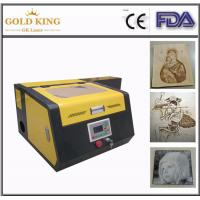 Wholesale Gold King Advertising co2 laser cutting and engraving machine(CE) from china suppliers