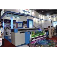 Quality uv led hybrid printer for both roll to roll and flat material wallpaper fabric for sale