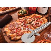 Wholesale Custom SS304 Stainless Steel Kitchen Tools Pizza Cutter With PP Wooden Handle from china suppliers