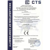 Opto-Edu (Beijing) Co., Ltd. Certifications