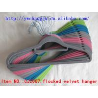 Buy cheap flocked hanger yiwu stocklot wholesale supplier over stock surplus manufacturer joblot closeout overproduction from wholesalers