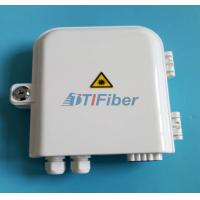 Wholesale FTTH 8 port PLC Fiber optic Splitter Box Wall pole Mounted Outdoor Distribution Box from china suppliers